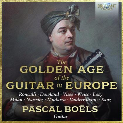 Pascal Boels - Golden Age Of The Guitar (2 CDs)
