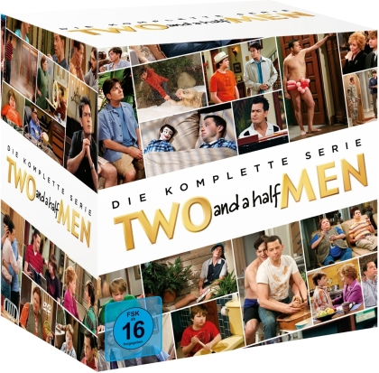 Two and a half men - Die komplette Serie (40 DVDs)