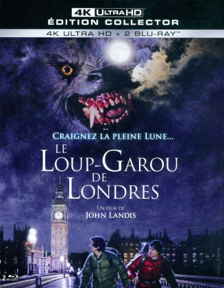 Le loup-garou de Londres (1981) (4K Ultra HD + Blu-ray)