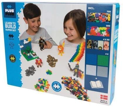 Learn to Build Super Set 1200 pcs