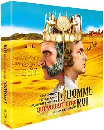 L'homme qui voulut être roi (1975) (Collector's Edition, Blu-ray + DVD + Buch)