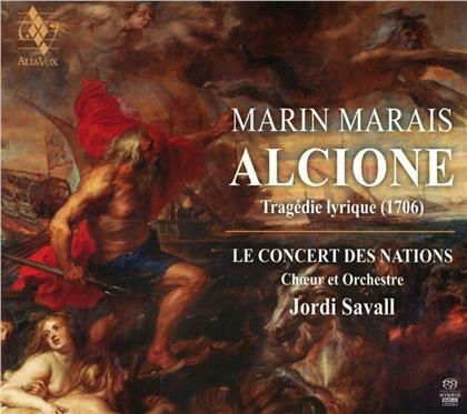 Le Concert des Nations, Marin Marais (1656-1728) & Jordi Savall - Alcione (SACD + 2 CDs)