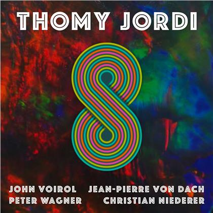 Thomy Jordi - 8 (LP + Digital Copy)