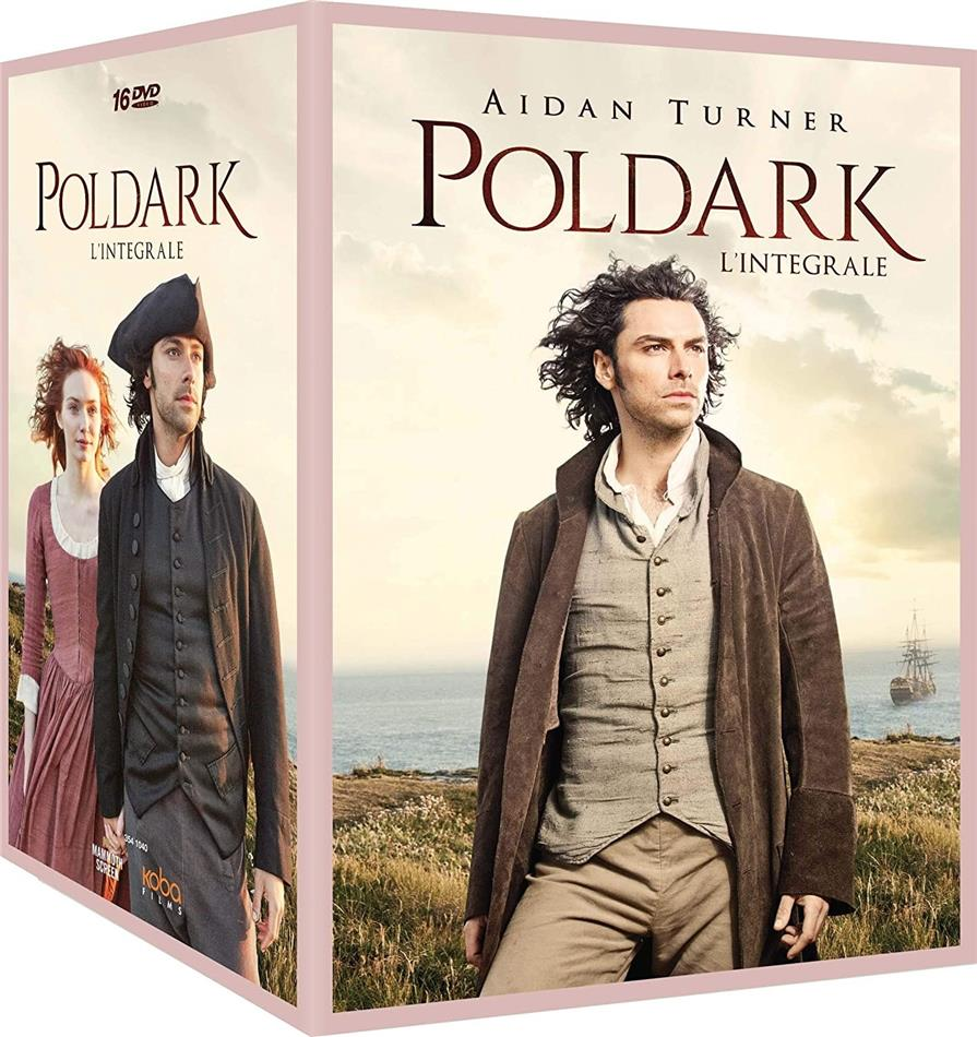 Poldark - L'intégrale - Saisons 1-5 (16 DVDs)