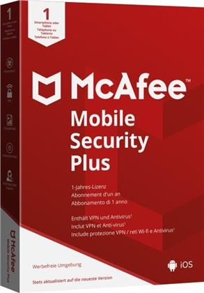 McAfee Mobile Security Plus (Android & IOS) (CIAB)