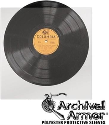 Bu S1010r 78 Rpm Record Sleeves Mylar 10 Cnt Clear