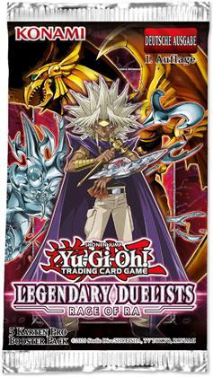 Yu-Gi-Oh! Rage of Ra Booster DE (Sammelkartenspiel) - 1 Stück