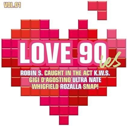 Love 90ies Vol. 1 (2 CDs)