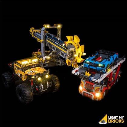 Light My Bricks - LED Do it Yourself Designer Licht Set für LEGO® Technic