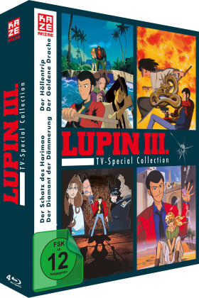 Lupin the 3rd - TV Special Collection (4 Blu-rays)