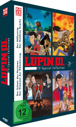 Lupin the 3rd - TV Special Collection (4 DVDs)