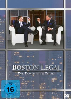 Boston Legal - Die komplette Serie (27 DVDs)