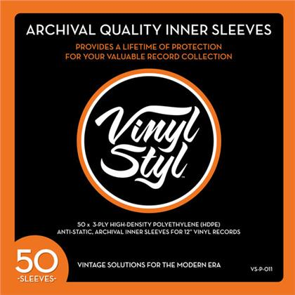 Vinyl Styl Archive Quality Inner Record Sleeve