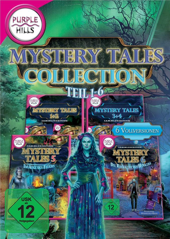 Mystery Tales Collection 1-6