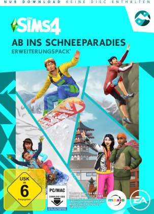 Sims 4 Addon: Ab ins Schneeparadies - (Code in a Box) (German Edition)