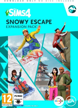 The Sims 4: Snowy Escape - (Code in a Box)