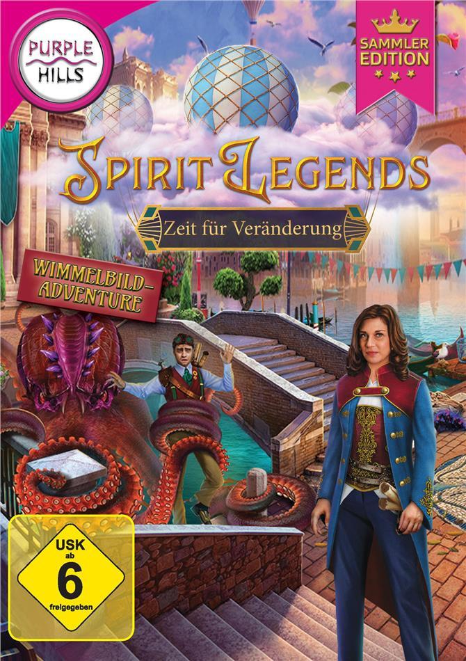 Spirit Legends 3: Zeit für Veränderung