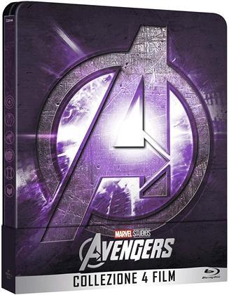 Avengers - Collezione 4 Film (Steelbook, 4 Blu-ray)