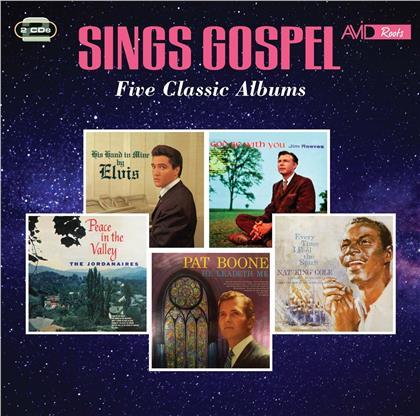 Elvis Presley & Jim Reeves - Sings Gospel - Five Classic Albums (2 CDs)