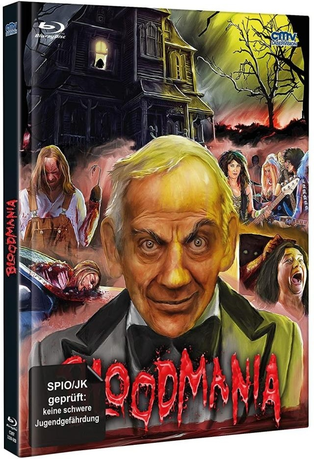 Herschell Gordon Lewis' BloodMania (Cover B, Limited Edition, Mediabook, Blu-ray + DVD)