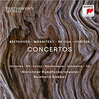 Reinhard Goebel, Anton Wranitzky, Jan Václav Vorisek Worzischek & Franz Schubert (1797-1828) - Beethoven's World - Wranitzky,Vorisek,Schubert