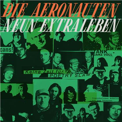 Die Aeronauten - Neun Extraleben (LP)