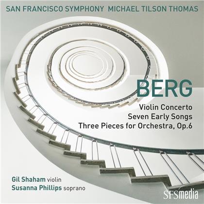 Michael Tilson Thomas & San Francisco Symphony - Violinkonzert, Sieben frühe Lieder, Drei Orchester (SACD)