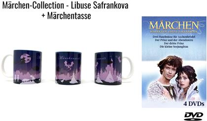 Märchen-Collection - Libuse Safrankova (+ Tasse, 4 DVDs)