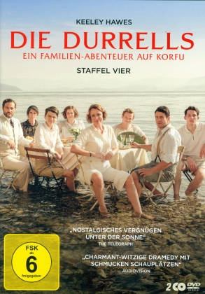 Die Durrells - Staffel 4 (2 DVDs)