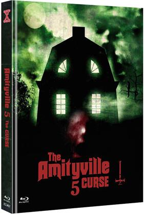 Amityville 5 - The Curse (1990) (Cover C, Limited Edition, Mediabook, Uncut, Blu-ray + DVD)