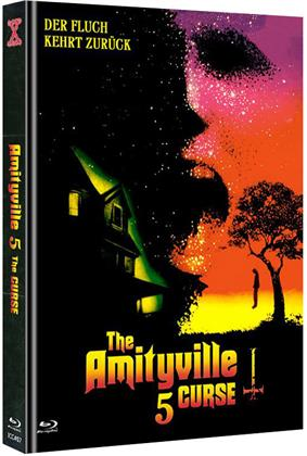 Amityville 5 - The Curse (1990) (Cover A, Limited Edition, Mediabook, Uncut, Blu-ray + DVD)