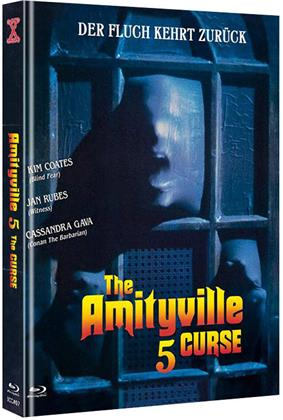 Amityville 5 - The Curse (1990) (Cover B, Limited Edition, Mediabook, Uncut, Blu-ray + DVD)