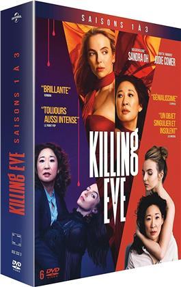 Killing Eve - Saisons 1-3 (6 DVDs)