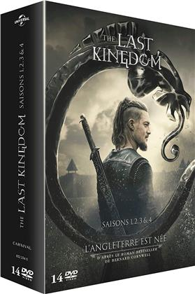 The Last Kingdom - Saisons 1-4 (14 DVDs)