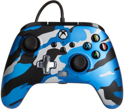 XBOX Controller Enhanced Wired BLUE CAMO POWER A offiziell lizenziert