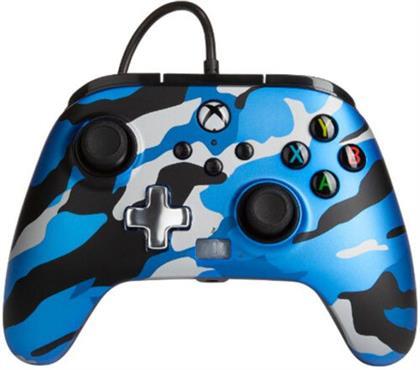 XBOX Controller Enhanced Wired BLUE CAMO POWER A offiziell lizenziert