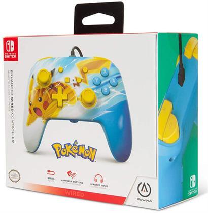 Switch Controller Pikachu Charge offiziell lizenziert POWER A