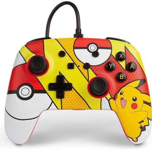 Switch Controller Pikachu Popart offiziell lizenziert POWER A
