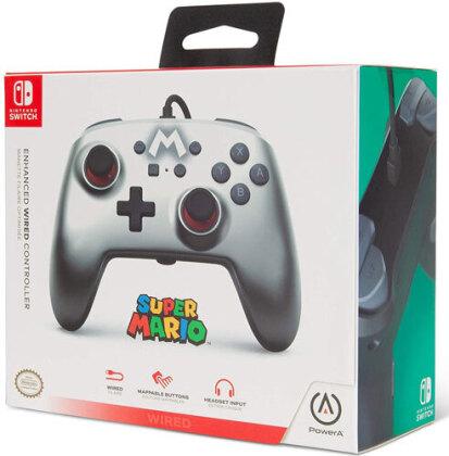 Switch Controller Silver M offiziell lizenziert POWER A