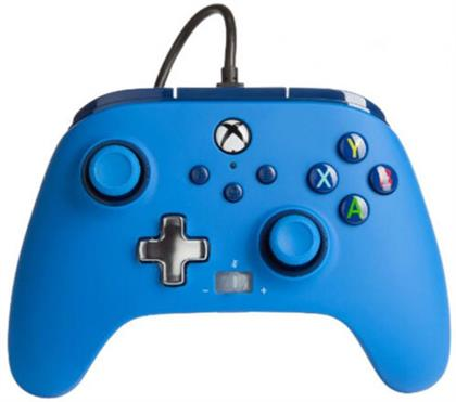 XBOX Controller Enhanced Wired BLUE POWER A offiziell lizenziert