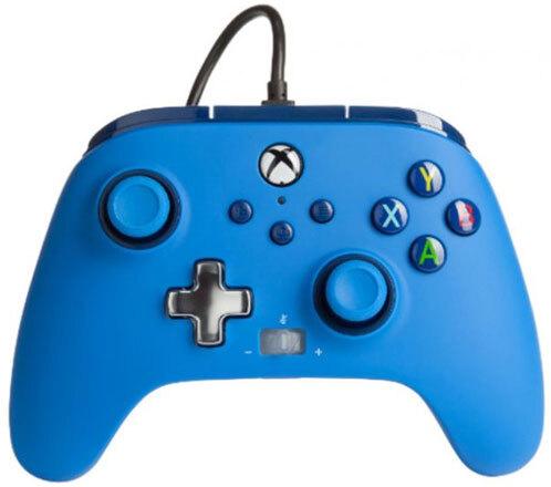 XBOX Controller Enhanced Wired BLUE POWER A offiziell lizenziert