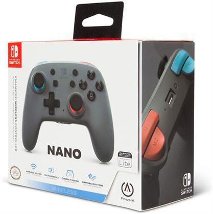Switch Controller Bluetooth Nano grey offiziell lizenziert POWER A