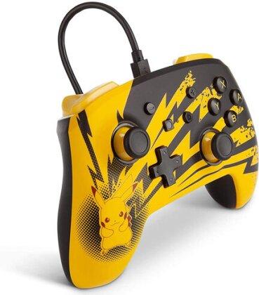 Switch Controller Pikachu Lightning offiziell lizenziert POWER A