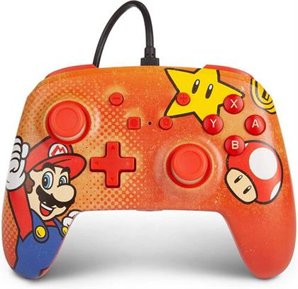 Switch Controller Mario Vintage offiziell lizenziert POWER A