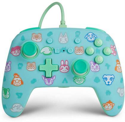 Switch Controller Animal Crossing offiziell lizenziert POWER A