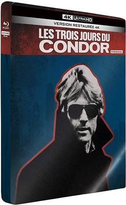 Les trois jours du Condor (1975) (Edizione Limitata, Edizione Restaurata, Steelbook, 4K Ultra HD + Blu-ray)