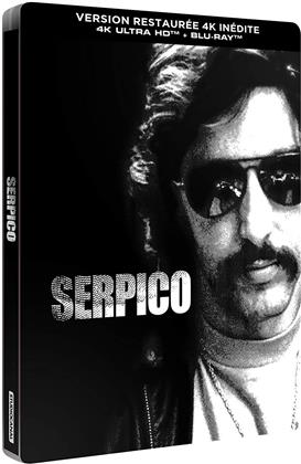 Serpico (1973) (Limited Edition, Restaurierte Fassung, Steelbook, 4K Ultra HD + Blu-ray)