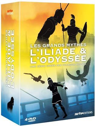 Les Grands Mythes - L'Iliade & l'Odyssée (Arte Éditions, 4 DVDs)