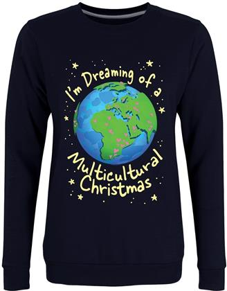 Dreaming of a Multicultural Christmas - Ladies Christmas Jumper