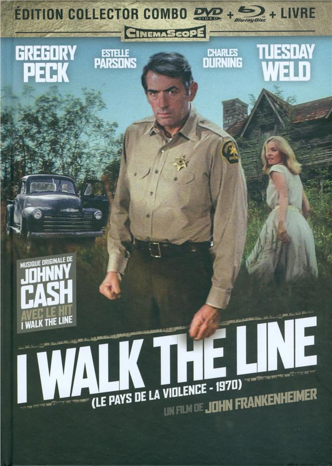 I Walk the Line - Le pays de la violence (1970) (Version Intégrale, Collector's Edition, Mediabook, Restaurierte Fassung, Blu-ray + DVD)